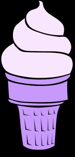 Fast food desserts ice cream cones soft serve clipart for Credence en verre transparent cuisine