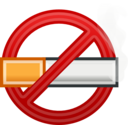 Color Wheel Of No Smoking Icon Clipart