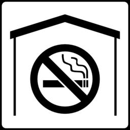 Color Wheel Of Hotel Icon No Smoking In Room Clipart