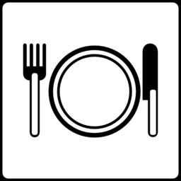 Color Wheel Of Hotel Icon Has Restaurant Clipart