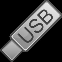 Color Wheel Of Usb Flash Drive Icon Clipart