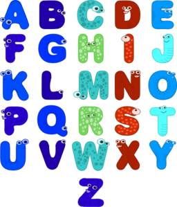 Color Wheel Of Animal Alphabets Clipart