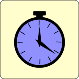 Color Wheel Of Pocket Watch Icon Clipart