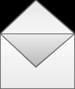 Open Envelope Clipart   i2Clipart - Royalty Free Public