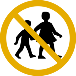No Children Sign Clipart I2clipart Royalty Free Public Domain Clipart
