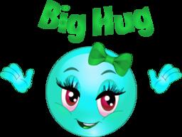 Big Hug Smiley Emoticon Clipart | i2Clipart - Royalty Free Public ...